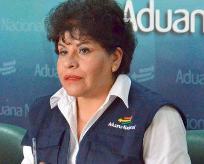 MARLENE ARDAYA, PRESIDENTA DE ADUANA.