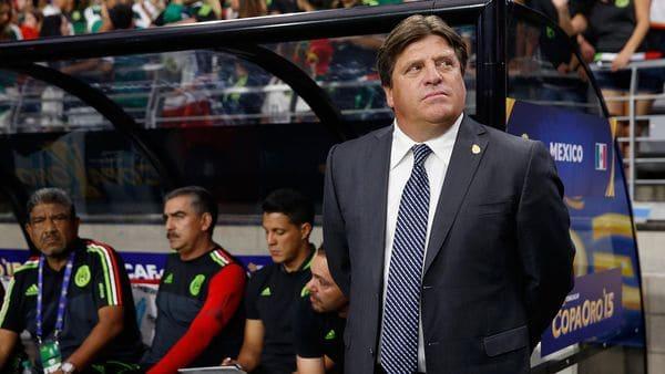 Miguel Herrera es optimista con el desempeño de México en la Copa Confederaciones de Rusia 2017 (Getty Images)