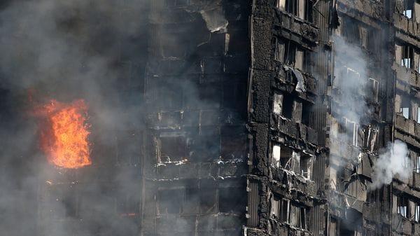 El trágico incendio en Londres (Reuters)