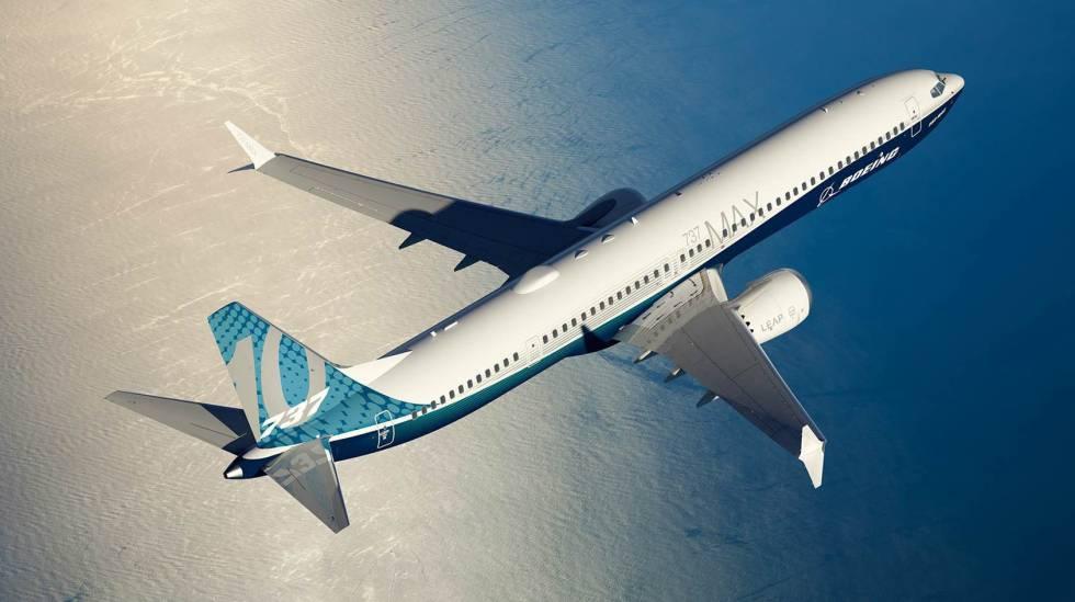 Imagen del futuro B737 MAX 10