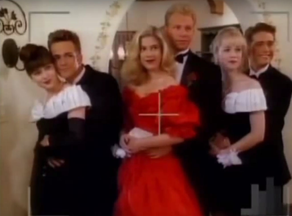 Beverly Hills, 90210, Fashion, Donna Spring Dance