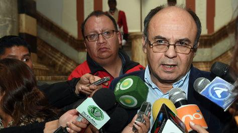 El ministro de Defensa, Reymi Ferreira. Foto: ABI