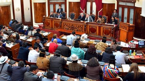 Sesión del Legislativo. Foto archivo: Vicepresidencia del Estado