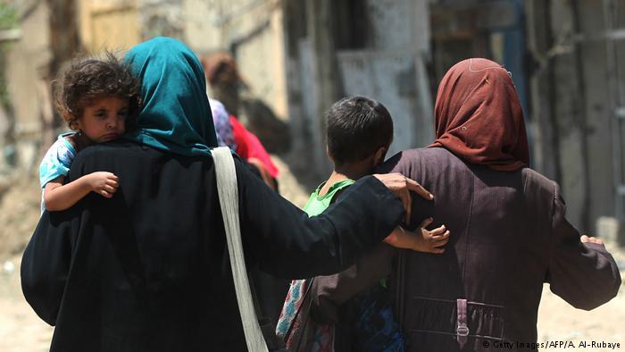 Irak Kampf um Mossul (Getty Images/AFP/A. Al-Rubaye)