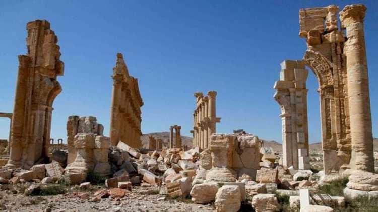 Palmira fue prácticamente arrasada por el Estado Islámico