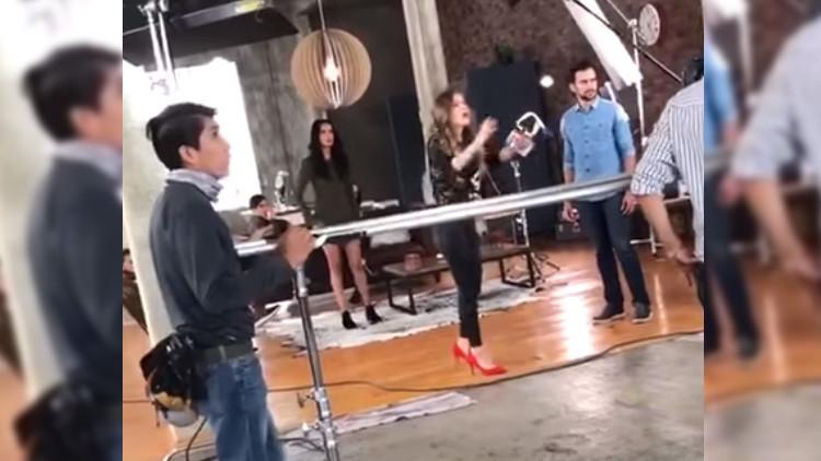 VIDEO: Una actriz mexicana lanza insultos discriminatorios contra una modelo y se vuelve viral