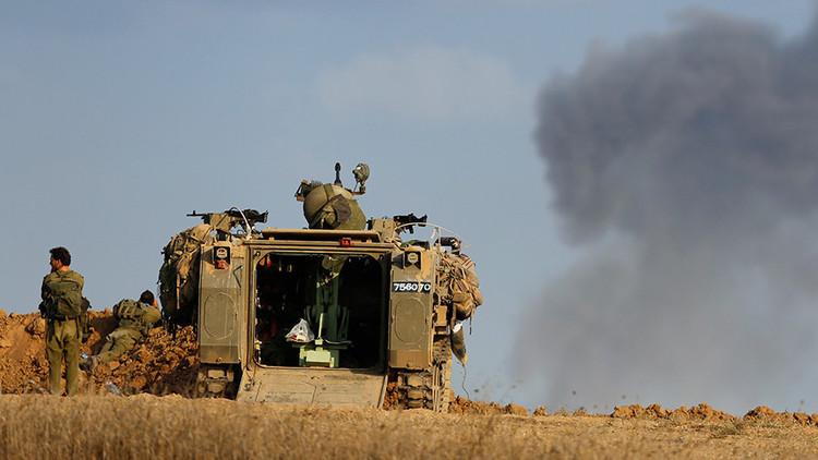 Israel ataca posiciones sirias porque asegura que un proyectil cayó en su territorio