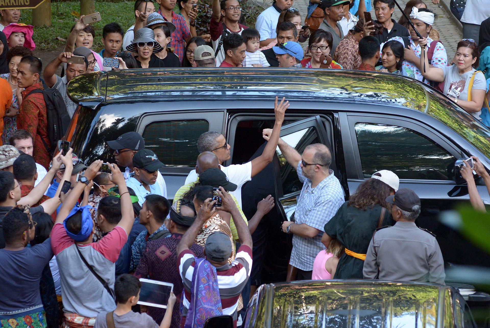 Obama es muy popular en el país con mayor población musulmana del mundo (AP)
