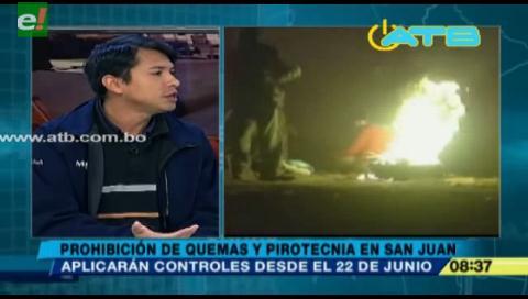 Prohibirán la quema en espacios públicos y privados durante San Juan