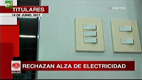 Video titulares de noticias de TV – Bolivia, noche del miércoles 14 de junio de 2017
