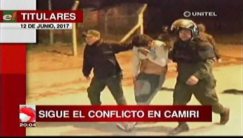 Video titulares de noticias de TV – Bolivia, noche del lunes 12 de junio de 2017