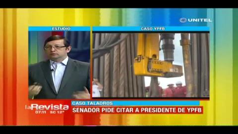 Ortiz y el caso taladros: «Detención de funcionarios de YPFB ratifica que hay problemas en el proceso»