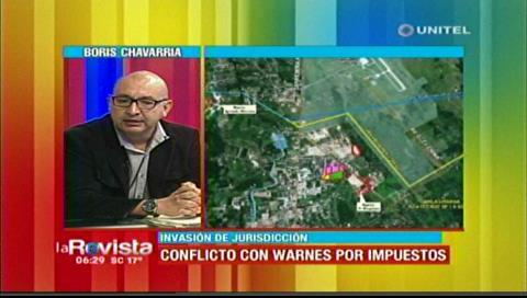 Warnes afirma que atienden a barrios en conflicto con Santa Cruz pero no reciben impuestos