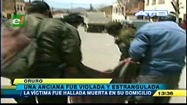 Oruro: Una anciana fue violada y estrangulada en Challapata
