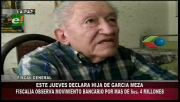 Ministerio Público convoca a declarar a la hija de García Meza por legitimación de ganancias ilícitas