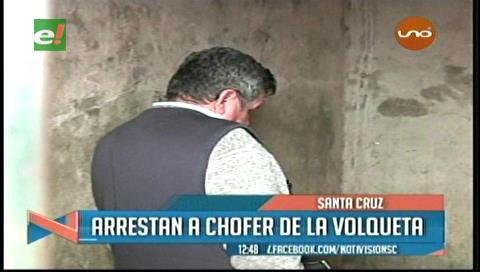 Detienen al chofer que atropelló y mató a una joven en la Virgen de Cotoca