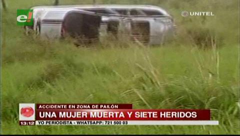 Un muerto en accidente en la ruta a Pailón
