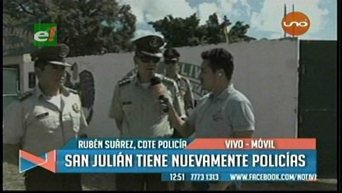 Fuerza policial vuelve a San Julián a 1 mes de linchamiento