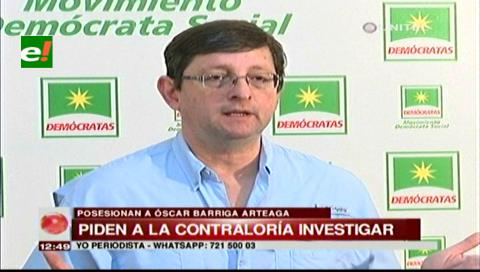 Senador Ortiz critica que Morales no reconozca errores de YPFB