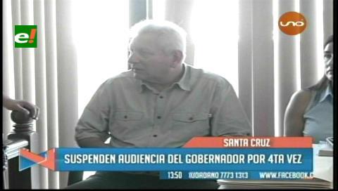Suspenden audiencia de Rubén Costas por el caso Cadepia para el 27 de junio