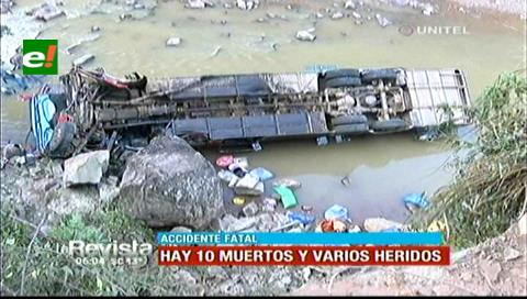 Invasión de carril de un camión sería la causa del accidente en la ruta a Bermejo (Santa Cruz)