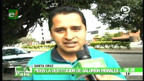 Santa Cruz: Maestros piden la renuncia del director Departamental de Educación