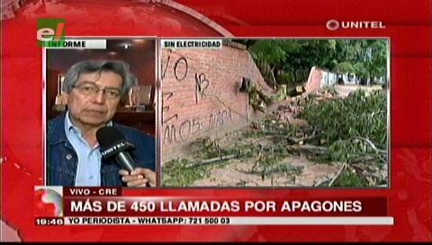 Fuertes de vientos: La CRE recibió 450 llamadas por cortes de electricidad
