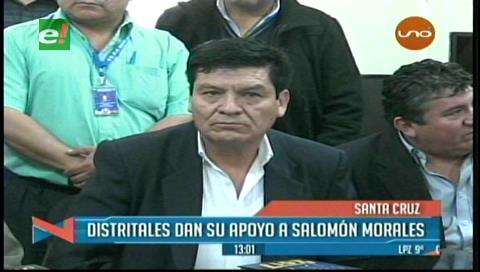 Directores distritales apoyan a Salomón Morales y piden a maestros dialogar