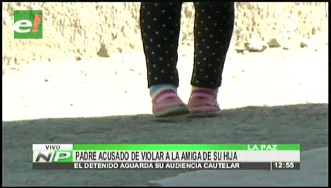 Sujeto es acusado de violar a la amiga de su hija
