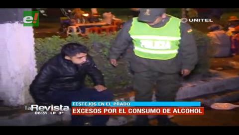 Festejo de los hinchas bolivaristas terminó con exceso en el consumo de bebidas alcohólicas