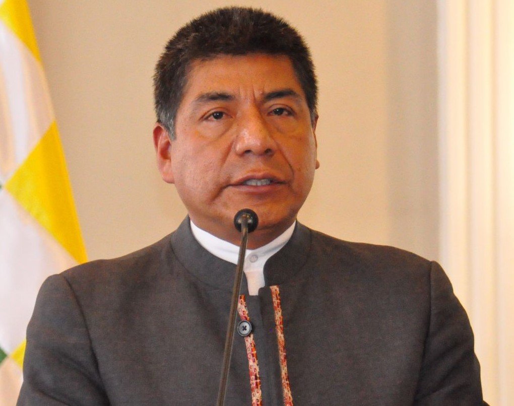 Canciller Fernando Huanacuni