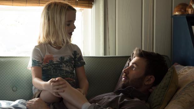 Chris Evans y el joven talento que descubre «Un don excepcional», Mckenna Grace