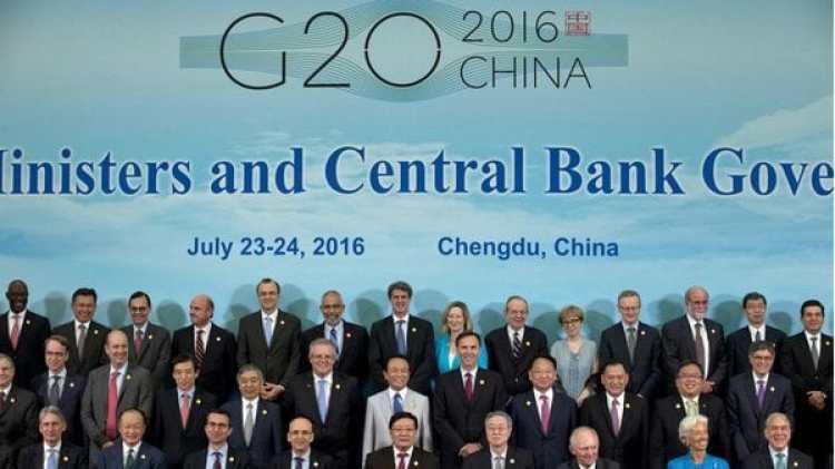 Los mandatarios se encontrarán en la próxima cumbre del G-20 en Alemania. En la foto una imagen del evento del año pasado (AP)