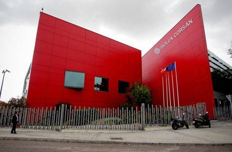 La sede de la empresa Isolux en Madrid. Foto: Jaime Villanueva / El País de España