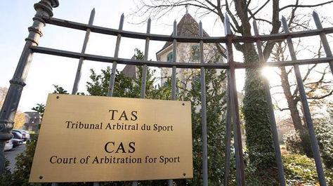 La puerta de ingreso al TAS en Lausanne, Suiza, donde se realizó la audiencia. Foto: ABC.es