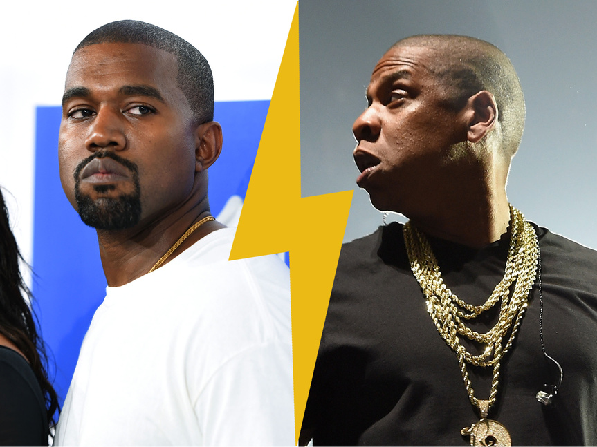 Kanye West VS Jay Z