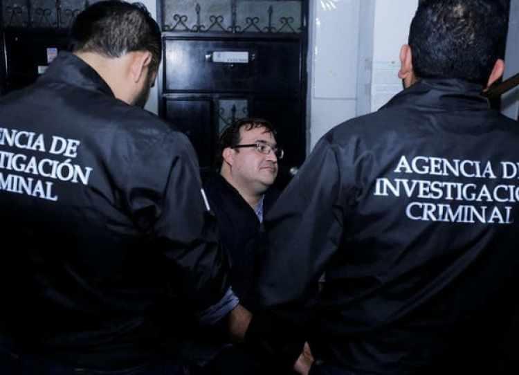 El ex gobernador del estado de Veracruz, México, tiene un plazo de 60 días para ser extraditado desde Guatemala (REUTERS)