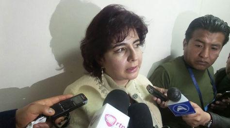 La abogada Paola Barriga
