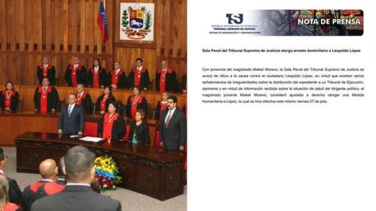 El TSJ dijo que Leopoldo López presenta problemas de salud