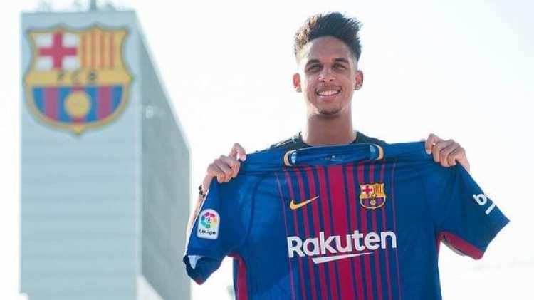 Vitinho, de 19 años, se sumará al equipo filial del Barcelona (@FCBmasia)