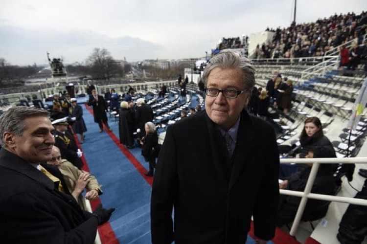 Steve Bannon, una de las figuras más polémicas del gabinete de Trump (Getty Images)