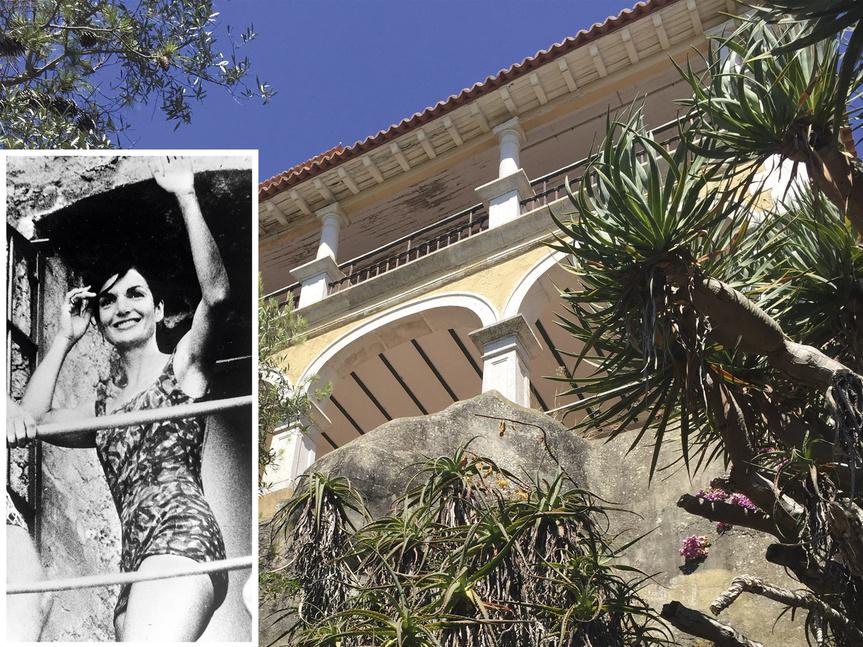 Jackie Kennedy y el Palacio da Comenda, en Portugal.