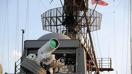 El cañón láser LaWS