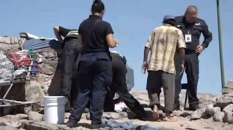 Se estima que en Hermosillo habría más de 600 indigentes. (Foto: YouTube/Captura)