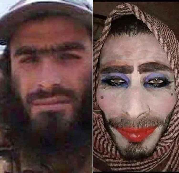 Uno de los terroristas de ISIS que fue descubierto a pesar de su disfraz