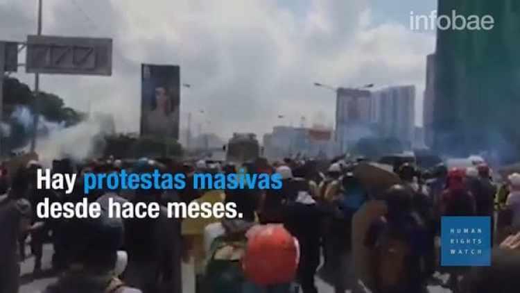 Las protestas se suceden a diario en Venezuela