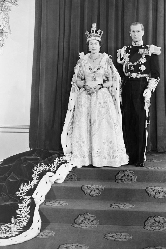 Coronación reina Isabel II
