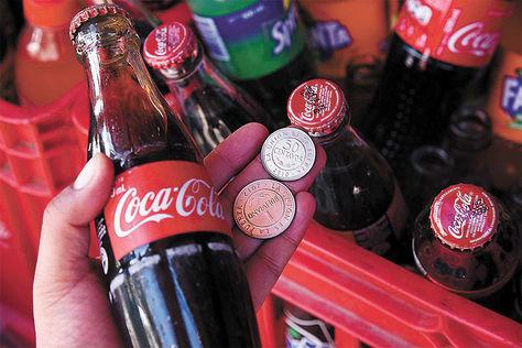 La Paz. Su precio actual es de Bs 1,50 (botella personal), antes era de Bs 1.