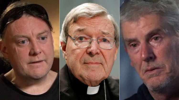 Damian Dignan y Lyndon Monument, supuestas víctimas del cardenal Pell.