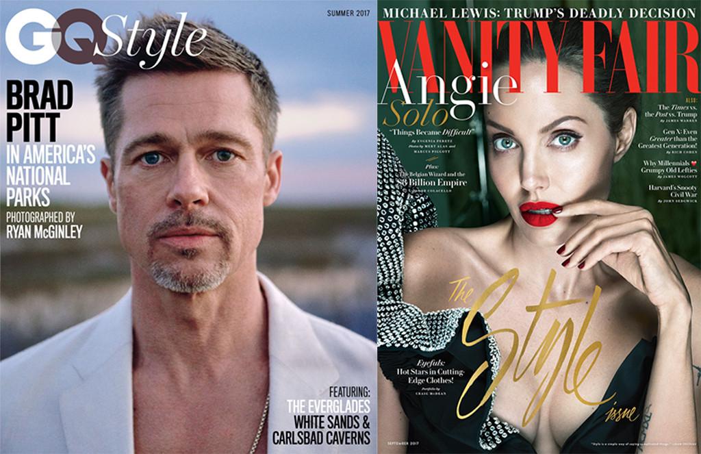 Brad Pitt, GQ Style, Angelina Jolie, Vanity Fair